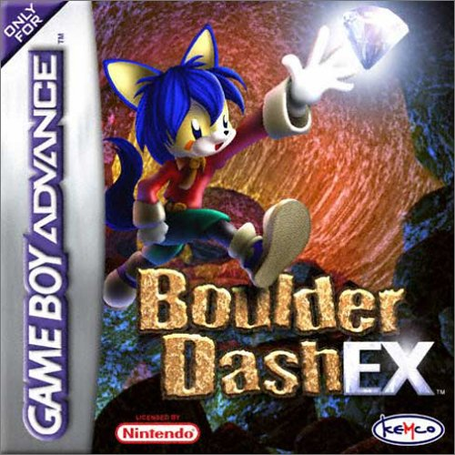 Boulder Dash EX (E)(Patience) Box Art