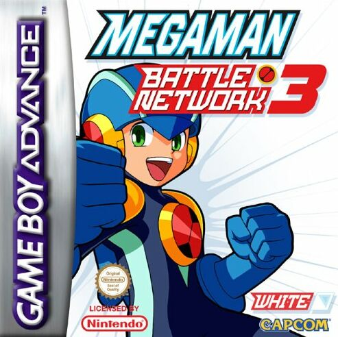 MegaMan Battle Network 3 White Version (E)(Patience) Box Art