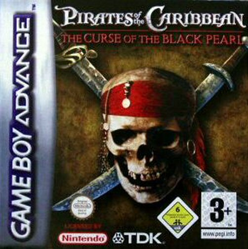 Pirates of the Caribbean (E)(TRSI) Box Art