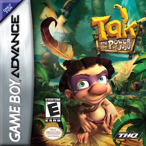 Tak And The Power of JuJu (U)(Hyperion) Box Art