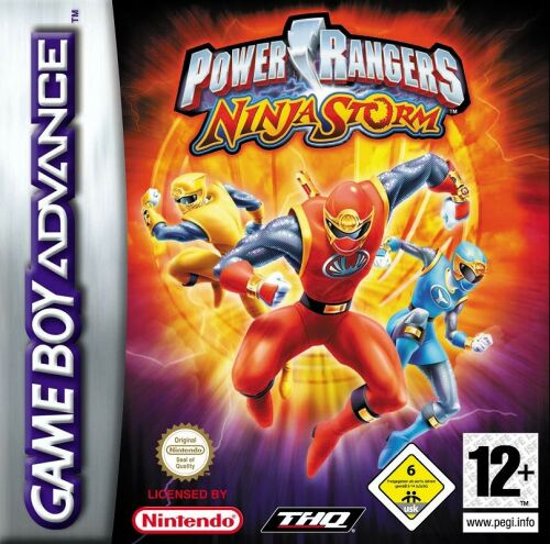 Power Rangers - Ninja Storm (E)(Suxxors) Box Art