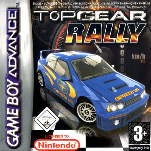 Top Gear Rally (E)(Surplus) Box Art