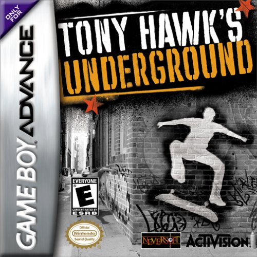 Tony Hawk's Underground (U)(Eurasia) Box Art
