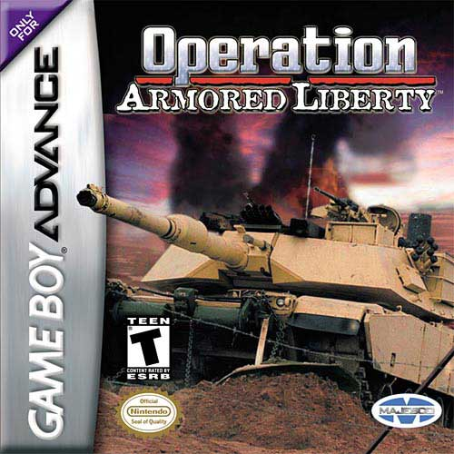 Operation Armored Liberty (U)(Rising Sun) Box Art