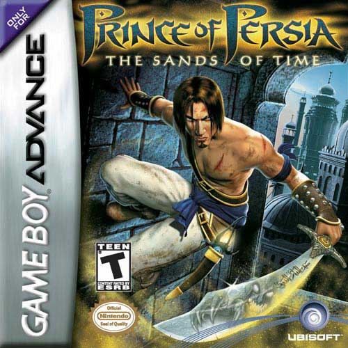 Prince of Persia - The Sands of Time (U)(Eurasia) Box Art