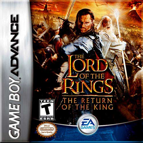 Lord of the Rings - The Return of the King (U)(Venom) Box Art