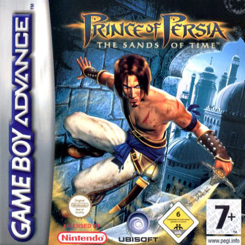 Prince of Persia - The Sands of Time (E)(Rising Sun) Box Art