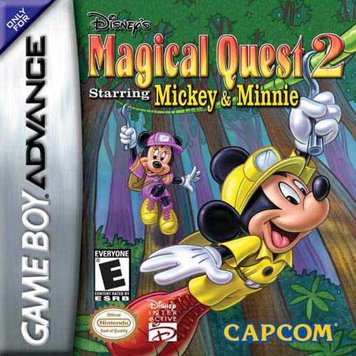 Disney's Magical Quest 2 Starring Mickey and Minnie (U)(Evasion) Box Art