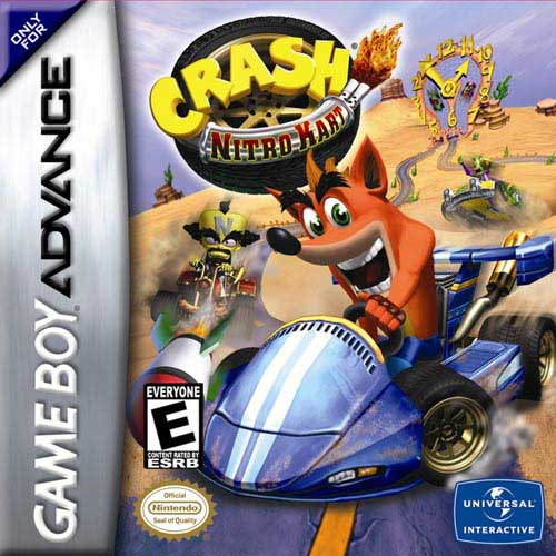 Crash Nitro Kart (U)(Venom) Box Art