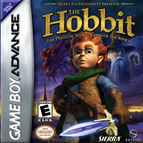 The Hobbit (U)(Evasion) Box Art