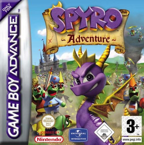 Spyro Adventures (E)(Patience) Box Art