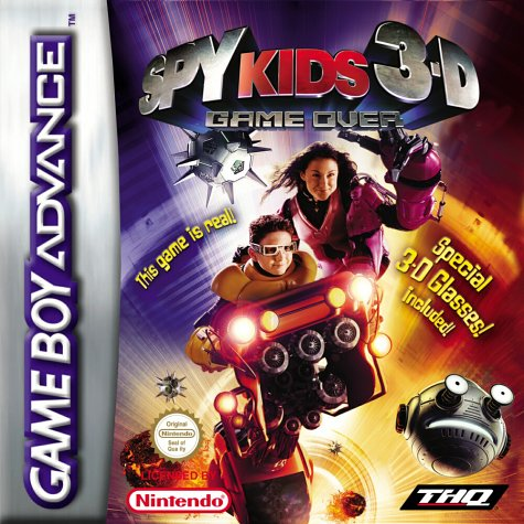 Spy Kids 3D (E)(Endless Piracy) Box Art