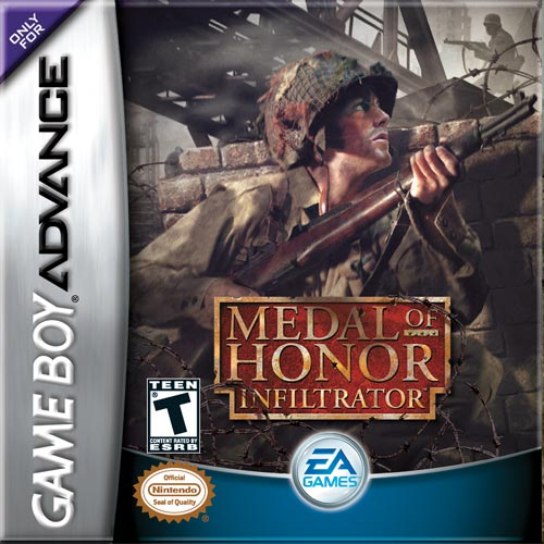 Medal of Honor - Infiltrator (U)(Venom) Box Art