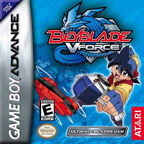 Beyblade VForce - Ultimate Blader Jam (U)(Evasion) Box Art