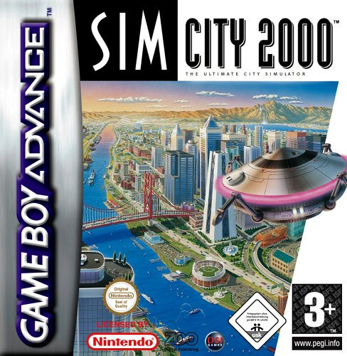 Sim City 2000 (E)(TrashMan) Box Art