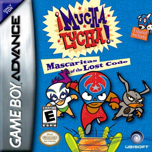 Mucha Lucha Mascaritas of the Lost Code (U)(Mode7) Box Art