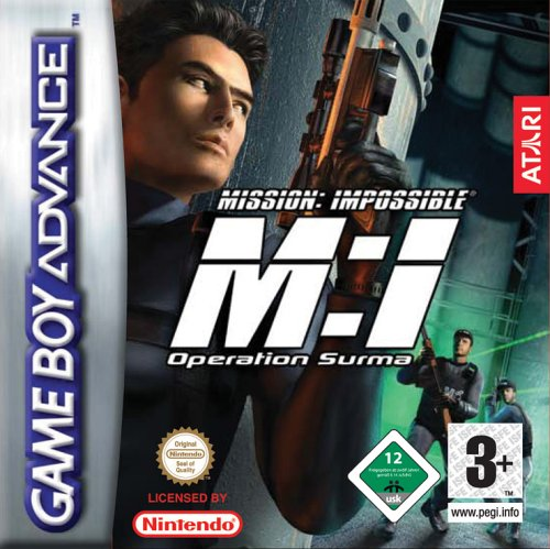 Mission Impossible - Operation Surma (E)(Rising Sun) Box Art