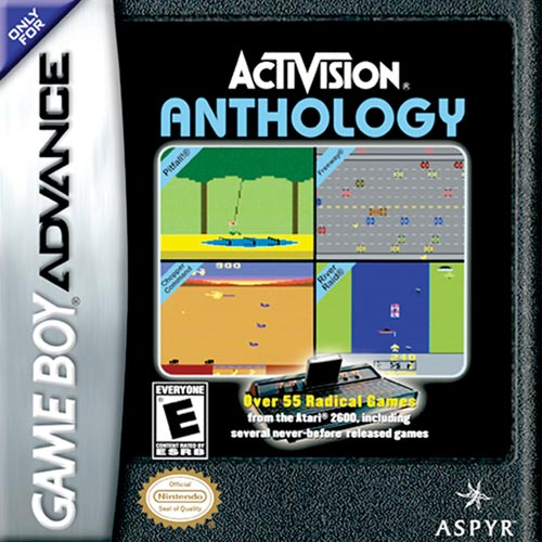 Activision Anthology (U)(Eurasia) Box Art