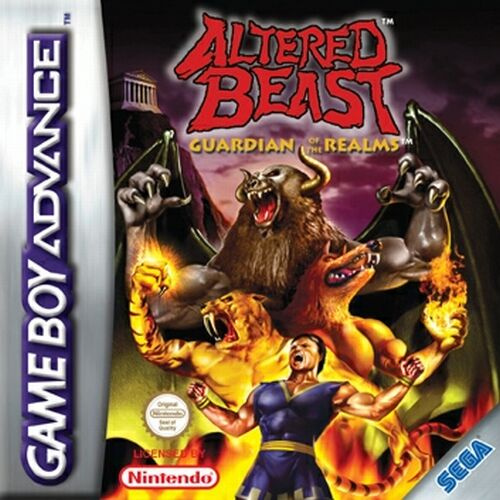 Altered Beast - Guardian of the Realms (E)(TrashMan) Box Art
