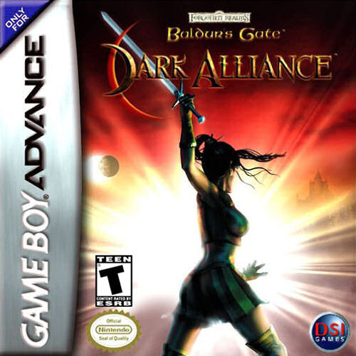 Baldurs Gate - Dark Alliance (U)(Hyperion) Box Art