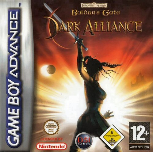Baldur's Gate - Dark Alliance (E)(Cezar) Box Art