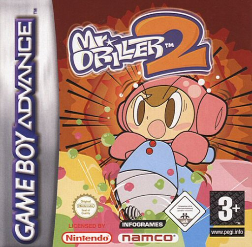 Mr. Driller 2 (E)(Advance-Power) Box Art