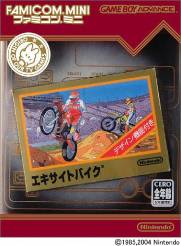 Famicom Mini - Vol 4 - Excite Bike (J)(Independent) Box Art