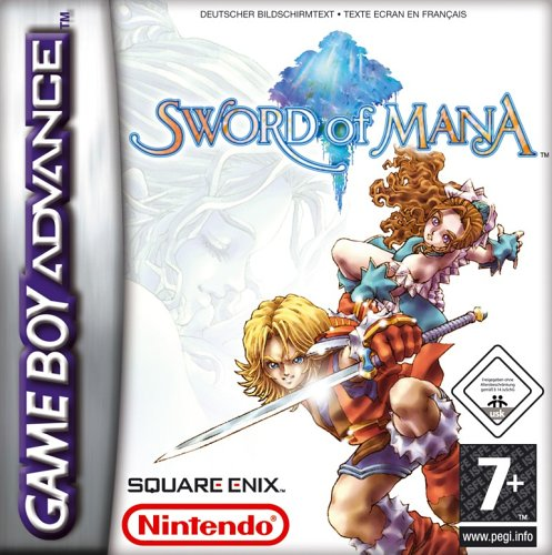 Sword Of Mana (E)(Rising Sun) Box Art