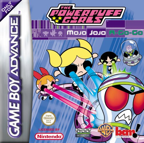 The Powerpuff Girls - Mojo JoJo A-Go-Go (E)(GBA) Box Art