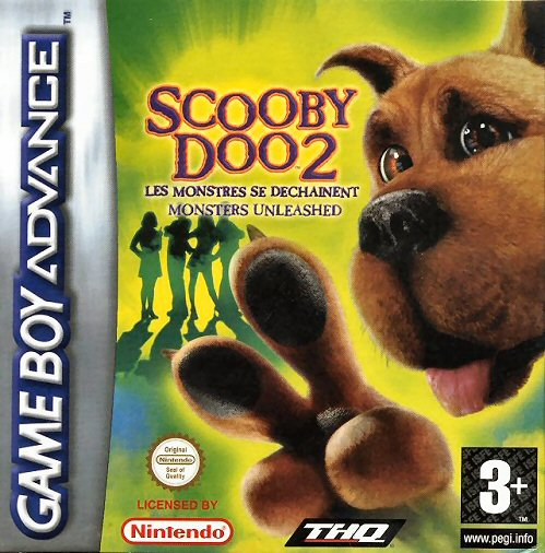 Scooby-Doo 2 - Monster Unleashed (E)(Rising Sun) Box Art