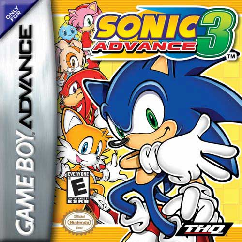 Sonic Advance 3 (U)(Venom) Box Art