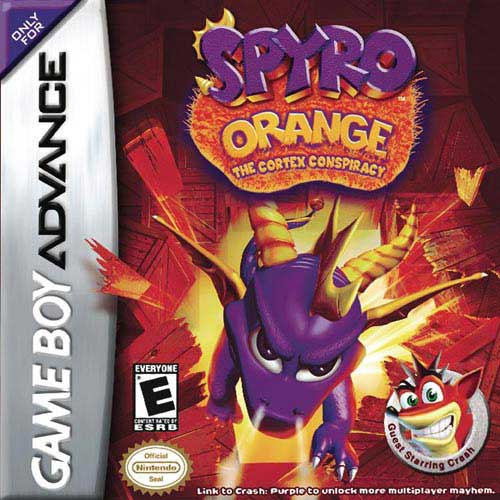 Spyro Orange - The Cortex Conspiracy (U)(Venom) Box Art