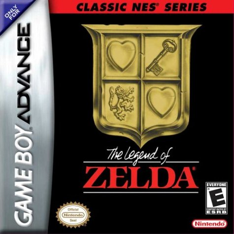 Classic Nes - The Legend of Zelda (U)(TrashMan) Box Art