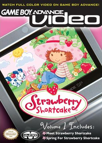 Strawberry Shortcake Volume 1 - Gameboy Advance Video (U)(Independent) Box Art