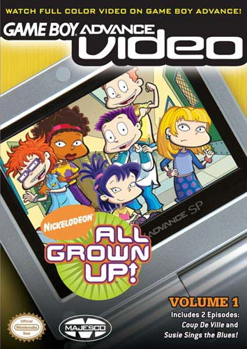 All Grown Up! Volume 1 - Gameboy Advance Video (U)(Rising Sun) Box Art