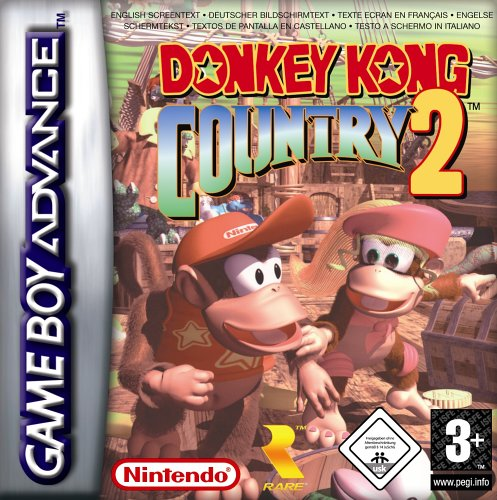 Donkey Kong Country 2 (E)(Morrigan) Box Art