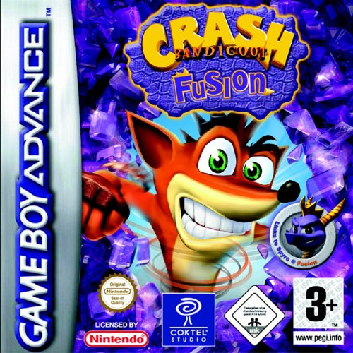 Crash Bandicoot Fusion (E)(Rising Sun) Box Art