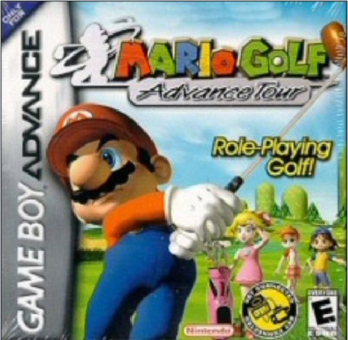 Mario Golf - Advance Tour (U)(Venom) Box Art