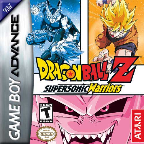 DragonBall Z - Supersonic Warriors (U)(Rising Sun) Box Art