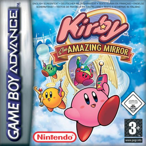 Kirby And The Amazing Mirror (E)(Rising Sun) Box Art
