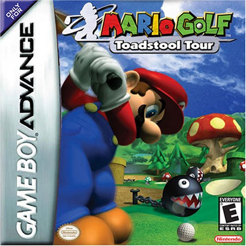 Mario Golf - Advance Tour (A)(TrashMan) Box Art