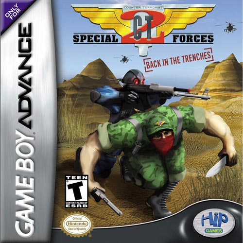 CT Special Forces 2 - Back in The Trenches (U)(Chameleon) Box Art
