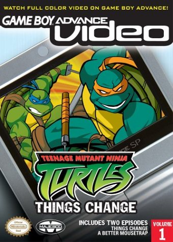 Teenage Mutant Ninja Turtles Volume 1 - Gameboy Advance Video (U)(Rising Sun) Box Art