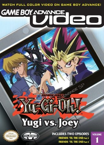 Yu-Gi-Oh! - Yugi Vs Joey Volume 1 - Gameboy Advance Video (U)(Independent) Box Art