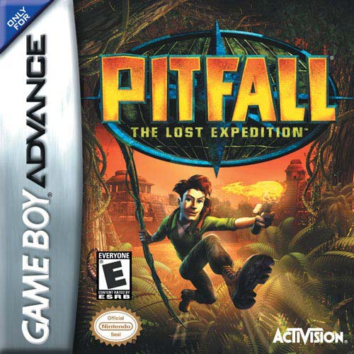 Pitfall - The Lost Expedition (U)(Chameleon) Box Art