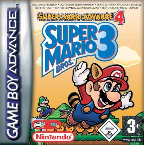 Super Mario Advance 4 - Super Mario Bros 3 (E)(Independent) Box Art