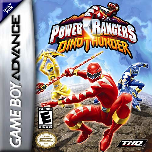 Power Rangers Dino Thunder (U)(Venom) Box Art