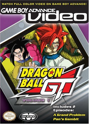 Dragon Ball GT Volume 1 - Gameboy Advance Video (U)(Rising Sun) Box Art