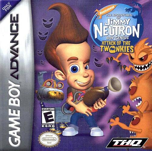 Jimmy Neutron Boy Genius - Attack of the Twonkies (U)(Venom) Box Art