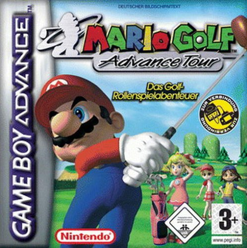 Mario Golf - Advance Tour (G)(Rising Sun) Box Art